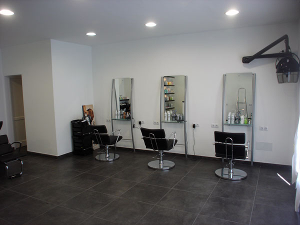 Hair and beauty salon for Salon renovation